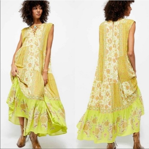 NWT Free People Hanalei Bay Dress size Small
